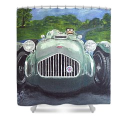 Allard J2x Shower Curtain
