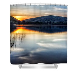 Allegheny Sunset Shower Curtain