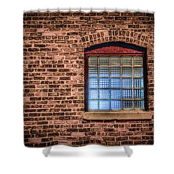Alley Window Shower Curtain by Ray Congrove