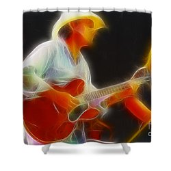 Allman-dickie-95-gc2-fractal Shower Curtain by Gary Gingrich Galleries