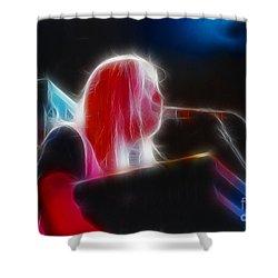 Allman-greg-95-gb9-fractal Shower Curtain by Gary Gingrich Galleries
