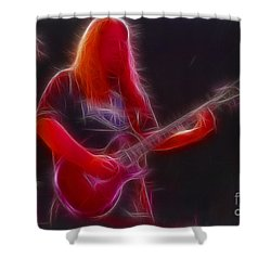 Allman-warren-95-gb3-fractal Shower Curtain by Gary Gingrich Galleries