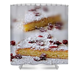 Almond Cake Shower Curtain