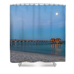 Almost Daylight Shower Curtain by Sean Allen