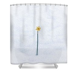 Almost Spring Shower Curtain by Joana Kruse
