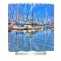 Almost Summer Shower Curtain by Heidi Smith