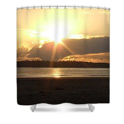 Almost Sundown Shower Curtain
