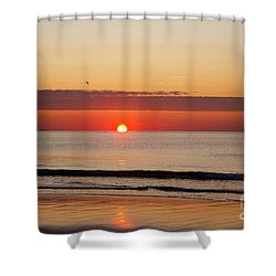 Shower Curtain featuring the photograph Almost Up by Eunice Miller