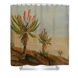 Aloes Shower Curtain
