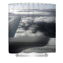 Aloft Shower Curtain by Amar Sheow