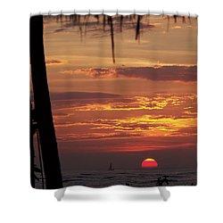 Aloha Shower Curtain by Karen Wiles