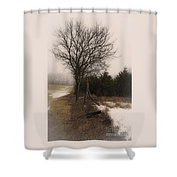 Alone Shower Curtain