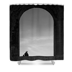Alone Shower Curtain by Dave Bowman