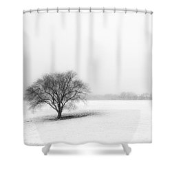 Alone Shower Curtain by Don Spenner