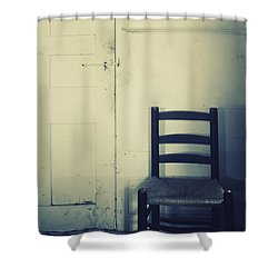 Alone In A Room Shower Curtain by Margie Hurwich
