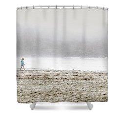 Alone Shower Curtain by Lisa Knechtel