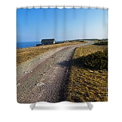 Shower Curtain featuring the photograph Along The Coast Of Baltic Sea by Kennerth and Birgitta Kullman