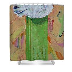 Alpaca Pez Shower Curtain