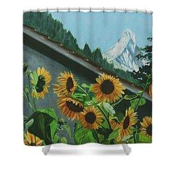 Alpine Delight Shower Curtain