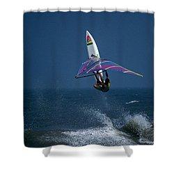 Alt Delete  Shower Curtain by Skip Willits