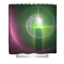 Altar Shower Curtain by Svetlana Nikolova