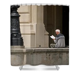Alte Oper Shower Curtain