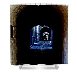 Altered Arch Walkway Shower Curtain