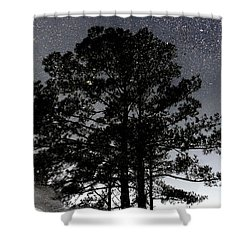 Asphalt Reflections Shower Curtain