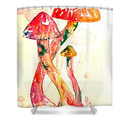 Altered Visions IIi Shower Curtain by Beverley Harper Tinsley