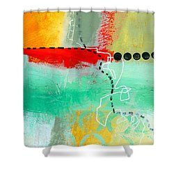 Alternate Route 56 Shower Curtain by Jane Davies