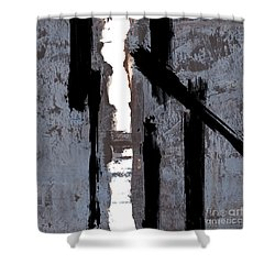 Alternative Edge Il Shower Curtain by Paul Davenport