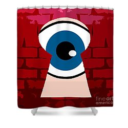 Alternative Point Of View Shower Curtain by Patrick J Murphy