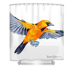 Da200 Altimira Oriole By Daniel Adams  Shower Curtain