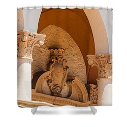 Alto Relievo Coat Of Arms Shower Curtain