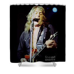 Alvin Lee - Ten Years Later At Oakland Auditorium 1979 Shower Curtain