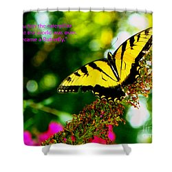 Always Hope - Butterfly Shower Curtain
