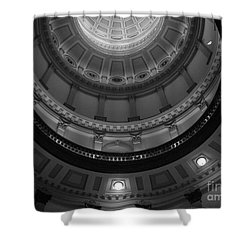 Always Look Up Shower Curtain by Barbara Bardzik