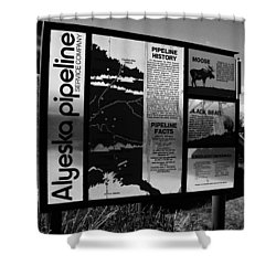 Alyeska Pipeline Shower Curtain