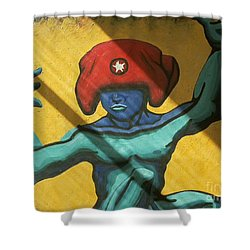 Am I Crazy Or Is It Just Everyone Else Shower Curtain by Feile Case