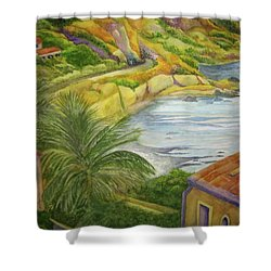 Am Taormina Shower Curtain