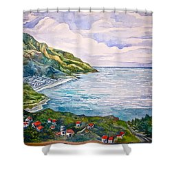 'amalfitana' Shower Curtain