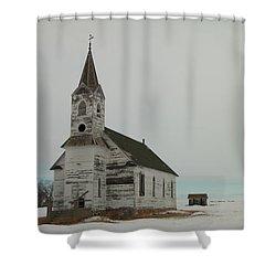 Amazing Grace In North Dakota Shower Curtain by Jeff Swan