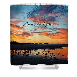 Amazing Grace On Siesta Key Shower Curtain by Margie Amberge