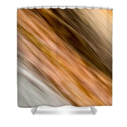 Amber Diagonal Shower Curtain