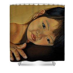Amelie-an 11 Shower Curtain