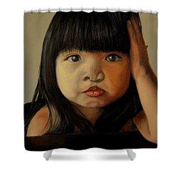 Amelie-an 5 Shower Curtain