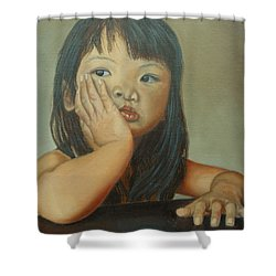 Amelie-an 6 Shower Curtain by Thu Nguyen