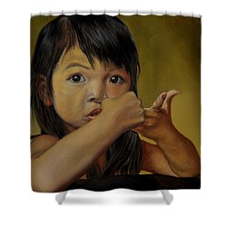 Amelie-an 9 Shower Curtain by Thu Nguyen