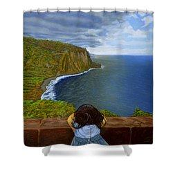 Amelie-an 's World Shower Curtain