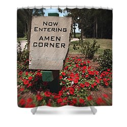 Amen Corner - A Golfers Dream Shower Curtain